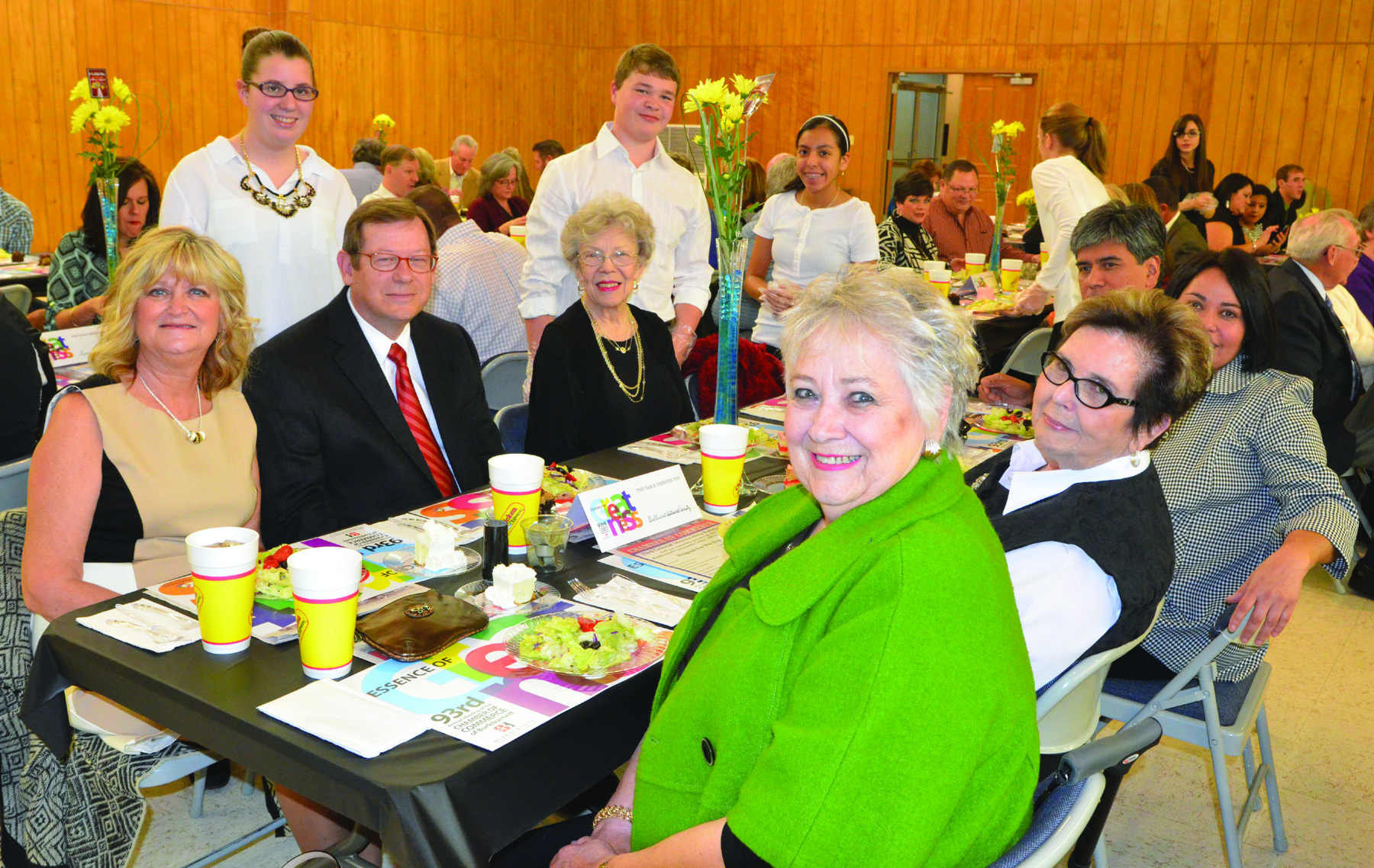 Members and Guest at the 2015 Chamber Banquet