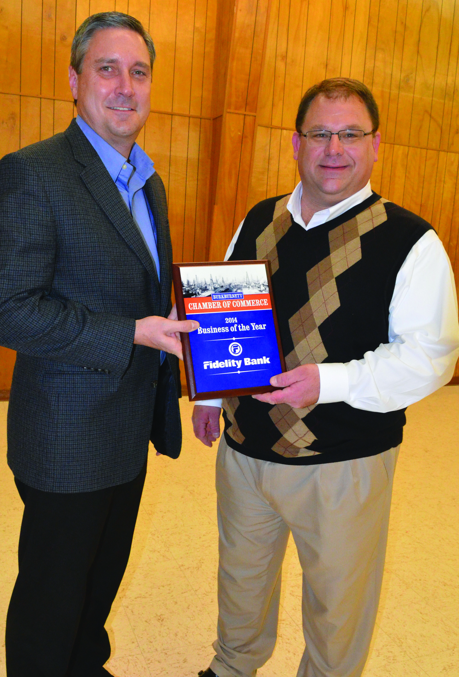 2014 Business of the Year - Fidelity Bank