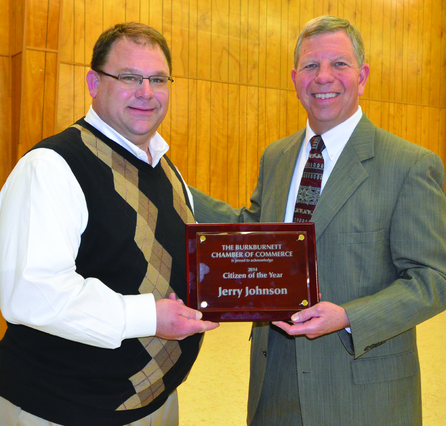 2014 Citizen of the Year - Jerry Johnson