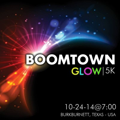 Boomtown Glow Run Square New