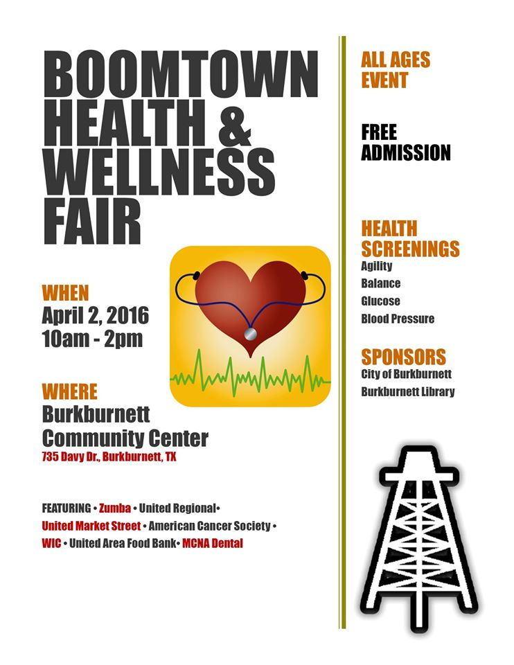 Boomtown Health and Wellness Fair