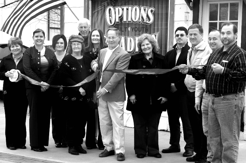 Ribbon Cutting at Options Academy